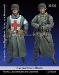 マンティス・ミニチュアズ[Man35132]1/35 WWII 独 ドイツ守備隊セット「ラインの守り」