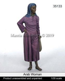 画像1: マンティス・ミニチュアズ[Man35133]1/35 ヒジャブを被ったアラブ人女性