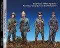 マンティス・ミニチュアズ[Man35090]1/35 WWI独 歩兵+戦車兵+将校セット(4体セット)