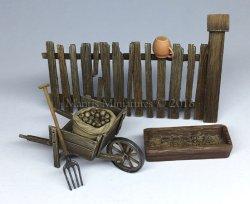 画像1: マンティス・ミニチュアズ[MAC15]1/35 農村の小道具セット