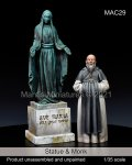 マンティス・ミニチュアズ[MAC29]1/35 祝福されし聖母の像と修道士