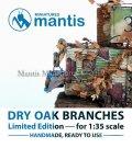 マンティス・ミニチュアズ[VC04]1/35WWIIジオラマ用アクセサリー秋のオークの葉と枝