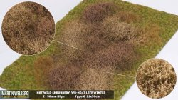 画像1: マーティンウェルバーグ[WB-M047]マットタイプ(ヤブ) 全高2mm~30mm 冬 パウダー付き  21cmx30cm