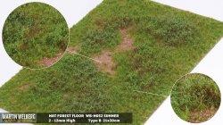 画像1: マーティンウェルバーグ[WB-M052]マットタイプ(草原) 全高2mm~12mm 夏 パウダー付き  21cmx30cm