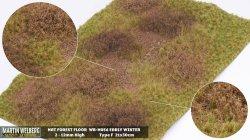 画像1: マーティンウェルバーグ[WB-M056]マットタイプ(草原) 全高2mm~12mm 初冬 パウダー付き  21cmx30cm