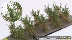 画像1: マーティンウェルバーグ[WB-SBDG]茂みB 株タイプ 全高40mm ダークグリーン 10株