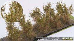 画像1: マーティンウェルバーグ[WB-SBOL]茂みB 株タイプ 全高40mm オリーブグリーン 10株
