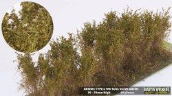 画像1: マーティンウェルバーグ[WB-SCOL]茂みC 株タイプ 全高40mm オリーブグリーン 10株