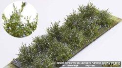 画像1: マーティンウェルバーグ[WB-SDL]茂みD 株タイプ 全高20mm ラベンダー 10株