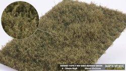 画像1: マーティンウェルバーグ[WB-SEBG]茂みE 草むらタイプ 全高20mm バーンドグリーン