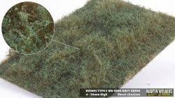 画像1: マーティンウェルバーグ[WB-SEHG]茂みE 草むらタイプ 全高20mm ヘイジーグリーン