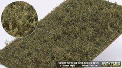 画像1: マーティンウェルバーグ[WB-SFBG]茂みF 草むらタイプ 全高15mm バーンドグリーン
