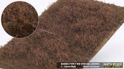 画像1: マーティンウェルバーグ[WB-SFFB]茂みF 草むらタイプ 全高15mm フォールブラウン