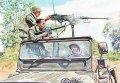 マスターボックス[MB35105] 1/35 米・ベトナム戦兵士3体車上射撃シーン+解放戦線兵2体