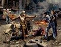マスターボックス[MB35175]1/35 女性戦士ライダー+ゾンビ男性2体&女性2体ファンタジー