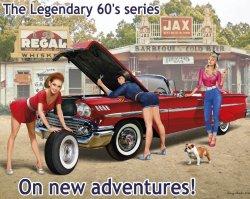 画像1: マスターボックス[MSB24082]1/24 伝説の60年代シリーズ: 新たな冒険の始まり