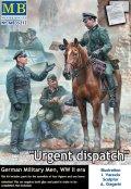 マスターボックス[MB35212]1/35 WW.II ドイツ兵 「緊急伝令」