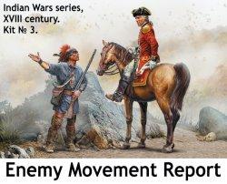 画像1: マスターボックス[MSB35217]1/35 インディアンウォーズシリーズ 18世紀 No.3:「敵情報告」