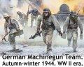 マスターボックス[MSB35220]1/35 WW.II ドイツ軍 機関銃チーム  1944年秋〜冬