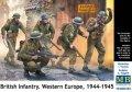 マスターボックス[MB3585]1/35 イギリス軍歩兵 西ヨーロッパ  1944〜1945年
