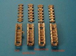 画像4: Master Club[MTL-35095]1/35 WWII独 ティーガーII用履帯(中期) Gg 26/800/300(金属製)