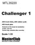 MasterClub[ MTL-35220]Tracks for Challenger 1