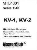 MasterClub[ MTL-4801]Tracks for KV-1 / KV-2