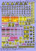 マソモデル[MH35101]1/35 警告サイン&警告表セット