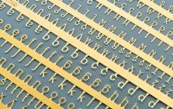 画像1: マソモデル[MH80008]スケールフリー フォトエッチング製ゴシック体ローマ文字シート 1.5/2.0mmサイズ