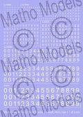 マソモデル[MH80003]スケールフリー 白色数字デカールタイプ1 スモールサイズ