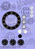 マソモデル[MH35100]1/35 時計用文字盤&ダイヤルデカールセット