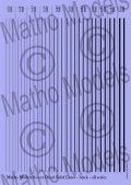 マソモデル[MH80005]スケールフリー ラインデカール 黒色実線セット