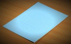 画像3: マソモデル[MH80016]スケールフリー アルファベット小文字デカール 白色セット 1.0〜3.0mmサイズ