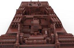 画像5: モンモデル[MENSPS-037]1/35 ドイツ重戦車キングタイガーヘンシェル砲塔インテリアセット