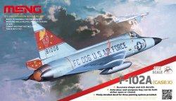 画像1: モンモデル[MENDS-003] F102A デルタダガー戦闘機(ケース X)