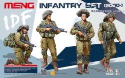 画像1: モンモデル[MENHS-004]1/35イスラエル国防軍歩兵セット
