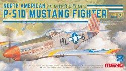 画像1: モンモデル[MENLS-006]1/48 ノースアメリカンP-51D マスタング 戦闘機