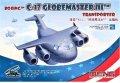 モンモデル[MENMPL-007]mプレーンシリーズ ボーイング C-17 グローブマスターIII 輸送機