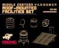 モンモデル[MENSPS-046]1/35 中東の建物 屋上設備セット(レジン製)