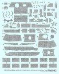 モンモデル[MENSPS-053]1/35 パンターA後期型用ツィンメリットコーティング タイプD(斜め)