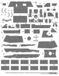 モンモデル[MENSPS-077]1/35 ドイツ 中戦車 Sd.Kfz.171 パンター A 初期型用 ツィンメリットコーティングデカール