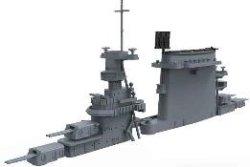 画像4: モンモデル[MENPS-002]1/700 アメリカ海軍航空母艦 レキシントン (CV-2)