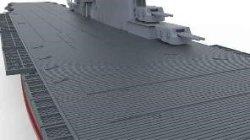画像3: モンモデル[MENPS-002]1/700 アメリカ海軍航空母艦 レキシントン (CV-2)