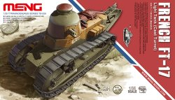 画像1: モンモデル[[MENTS-008]1/35  フランス FT-17軽戦車(鋳造砲塔)