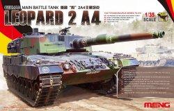 画像1: モンモデル[MENTS-016]1/35 ドイツ主力戦車レオパルト2A4