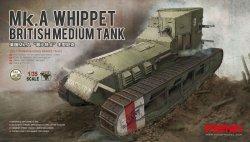 画像1: モンモデル[TS-021]1/35  イギリス中戦車マークAホイペット