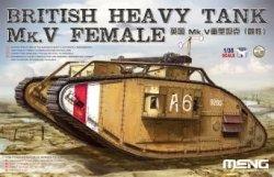 画像1: モンモデル[MENTS-029]1/35 イギリス重戦車Mk.V (雌型)