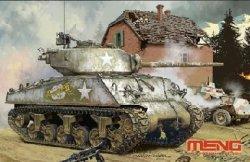 画像1: モンモデル[MENTS-043]1/35 アメリカ中戦車 M4A3(76)W