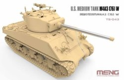 画像2: モンモデル[MENTS-043]1/35 アメリカ中戦車 M4A3(76)W