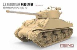 画像3: モンモデル[MENTS-043]1/35 アメリカ中戦車 M4A3(76)W
